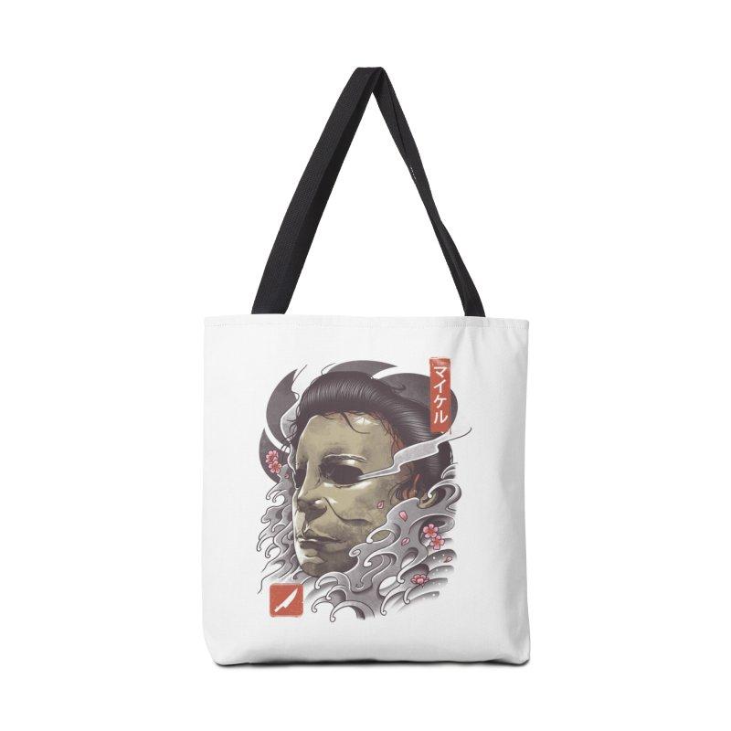 Oni Slasher Mask Accessories Bag by vincenttrinidad's Artist Shop