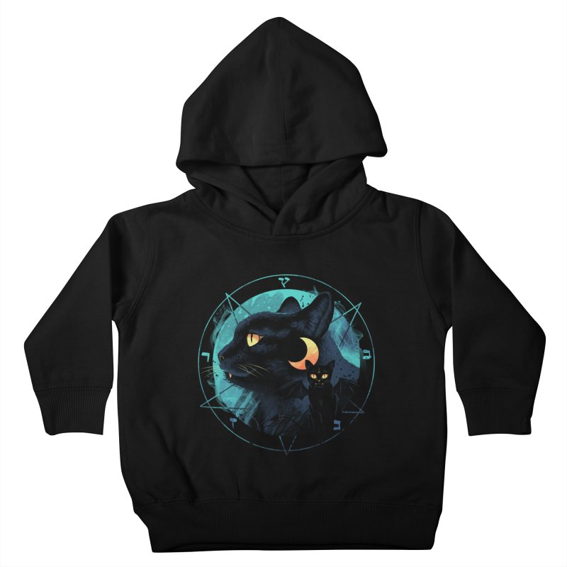 Puss the Evil Cat Kids Toddler Pullover Hoody by vincenttrinidad's Artist Shop