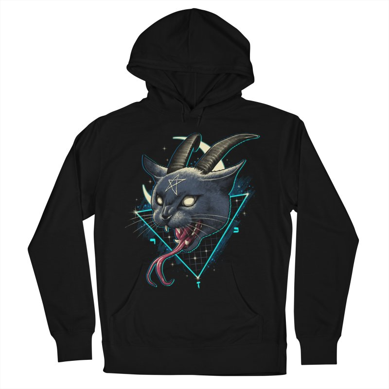 Rad Devil Cat Men's French Terry Pullover Hoody by vincenttrinidad's Artist Shop