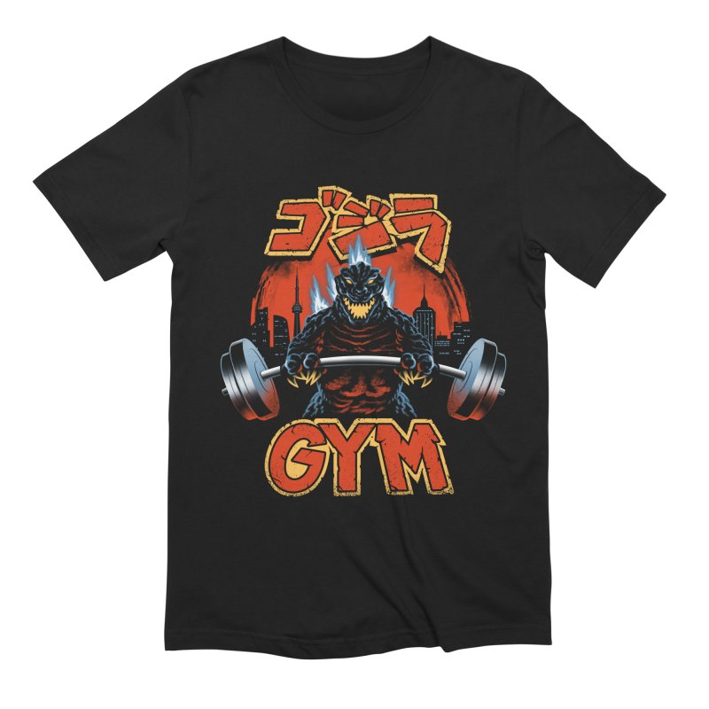 Zilla Gym Men's Extra Soft T-Shirt by vincenttrinidad's Artist Shop
