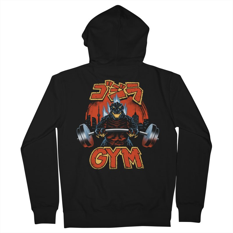 Zilla Gym Men's French Terry Zip-Up Hoody by vincenttrinidad's Artist Shop