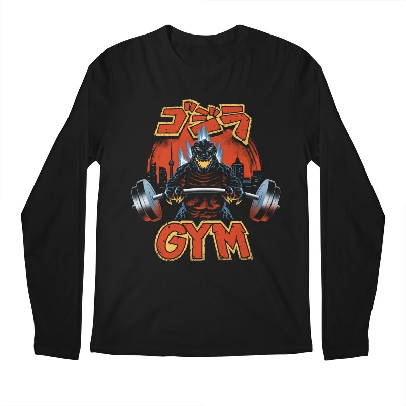 Zilla Gym Men's Regular Longsleeve T-Shirt by vincenttrinidad's Artist Shop