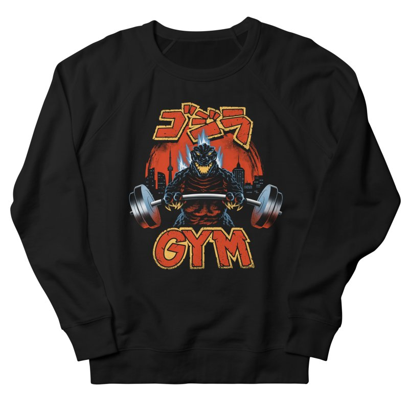 Zilla Gym Men's French Terry Sweatshirt by vincenttrinidad's Artist Shop
