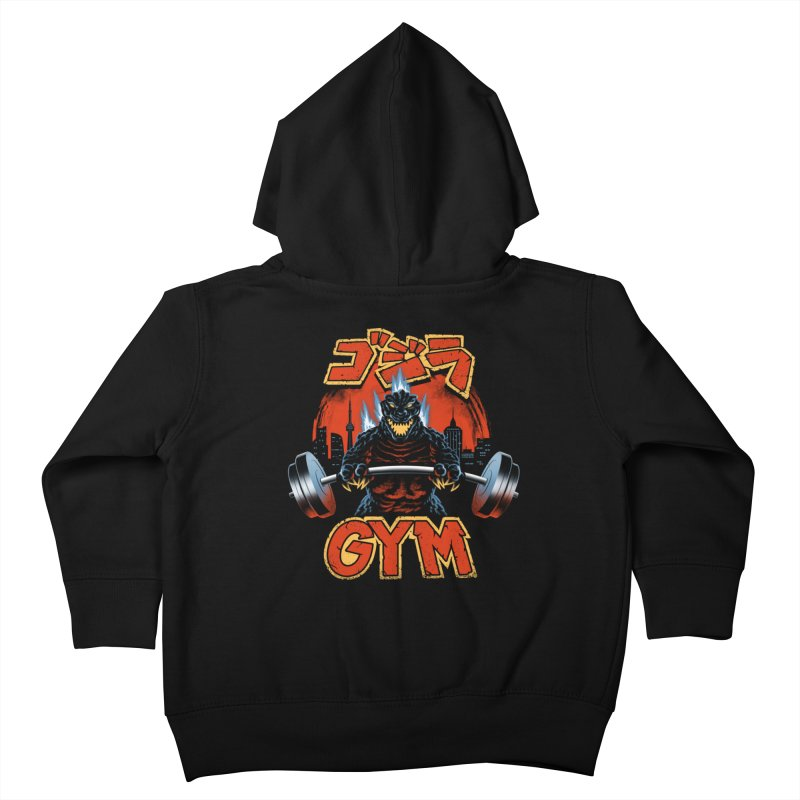 Zilla Gym Kids Toddler Zip-Up Hoody by vincenttrinidad's Artist Shop