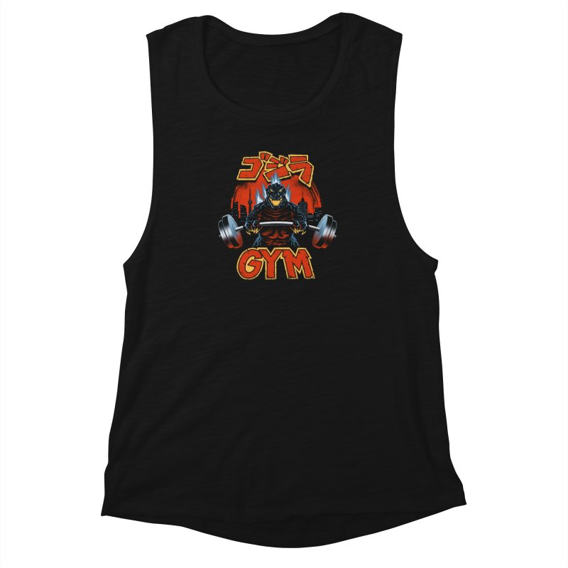 Zilla Gym Women's Muscle Tank by vincenttrinidad's Artist Shop