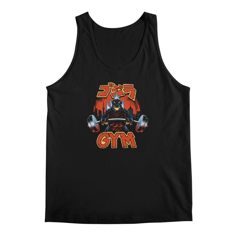 Zilla Gym Men's Regular Tank by vincenttrinidad's Artist Shop