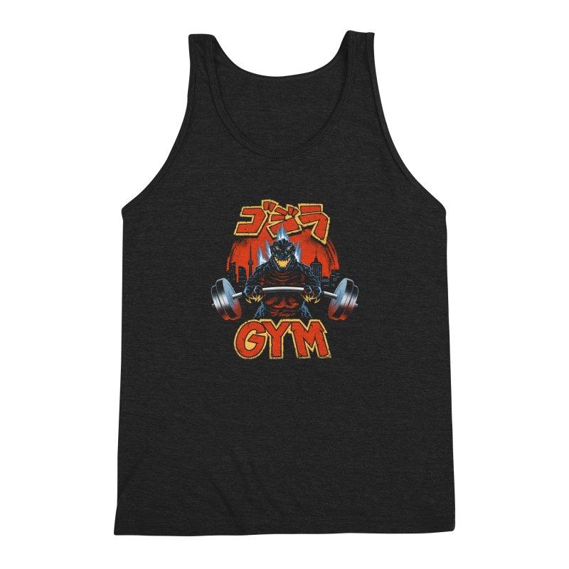 Zilla Gym Men's Triblend Tank by vincenttrinidad's Artist Shop
