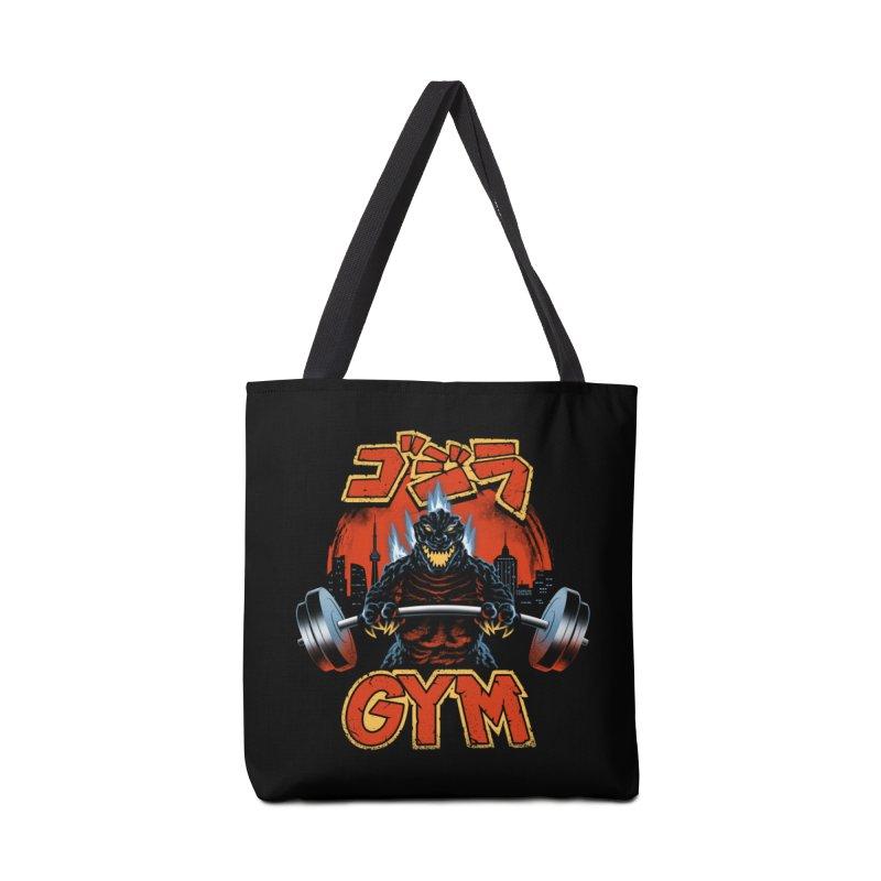 Zilla Gym Accessories Bag by vincenttrinidad's Artist Shop