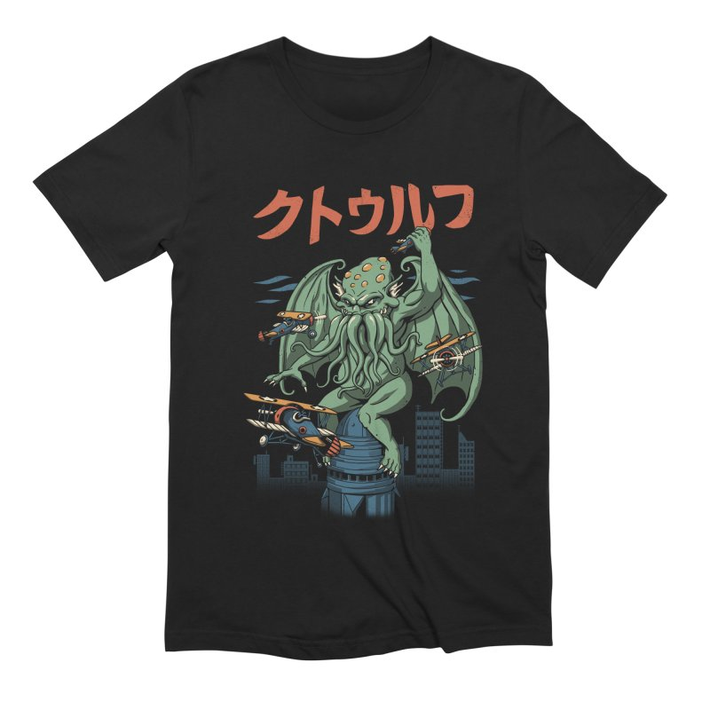 Kongthulhu Men's Extra Soft T-Shirt by vincenttrinidad's Artist Shop