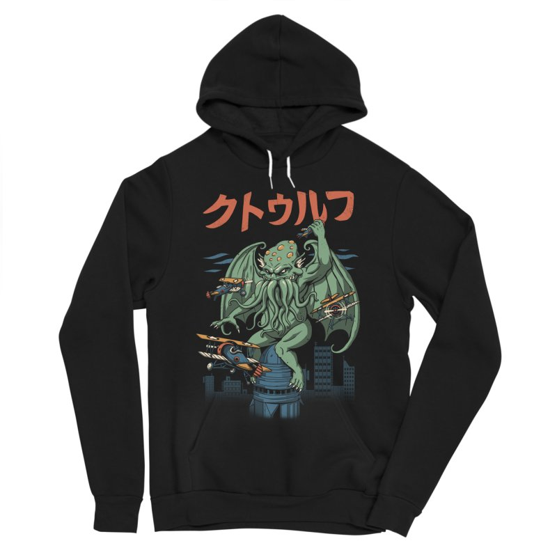 Kongthulhu Women's Sponge Fleece Pullover Hoody by vincenttrinidad's Artist Shop