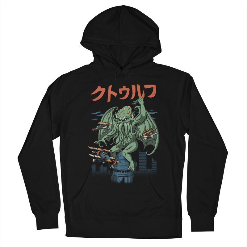 Kongthulhu Women's French Terry Pullover Hoody by vincenttrinidad's Artist Shop