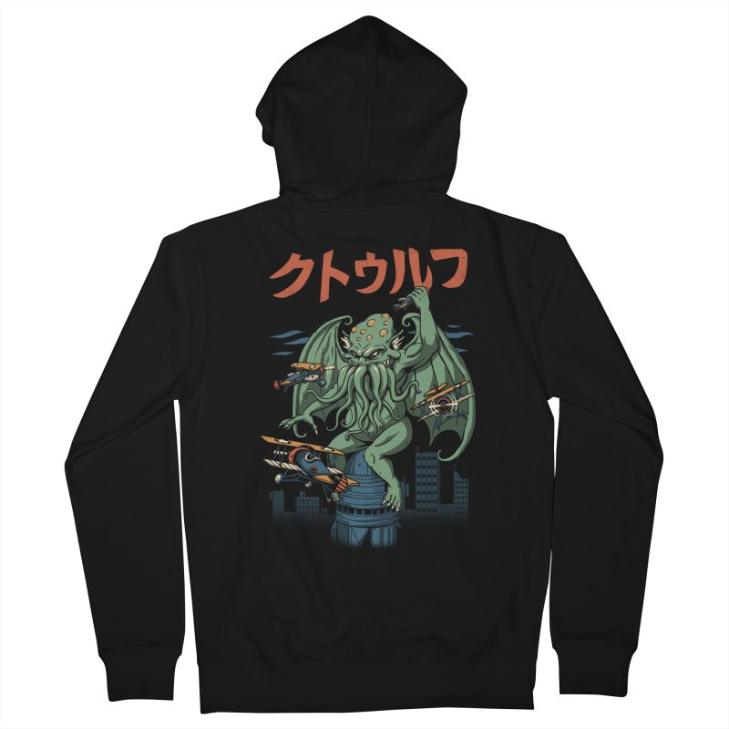 Kongthulhu Men's French Terry Zip-Up Hoody by vincenttrinidad's Artist Shop