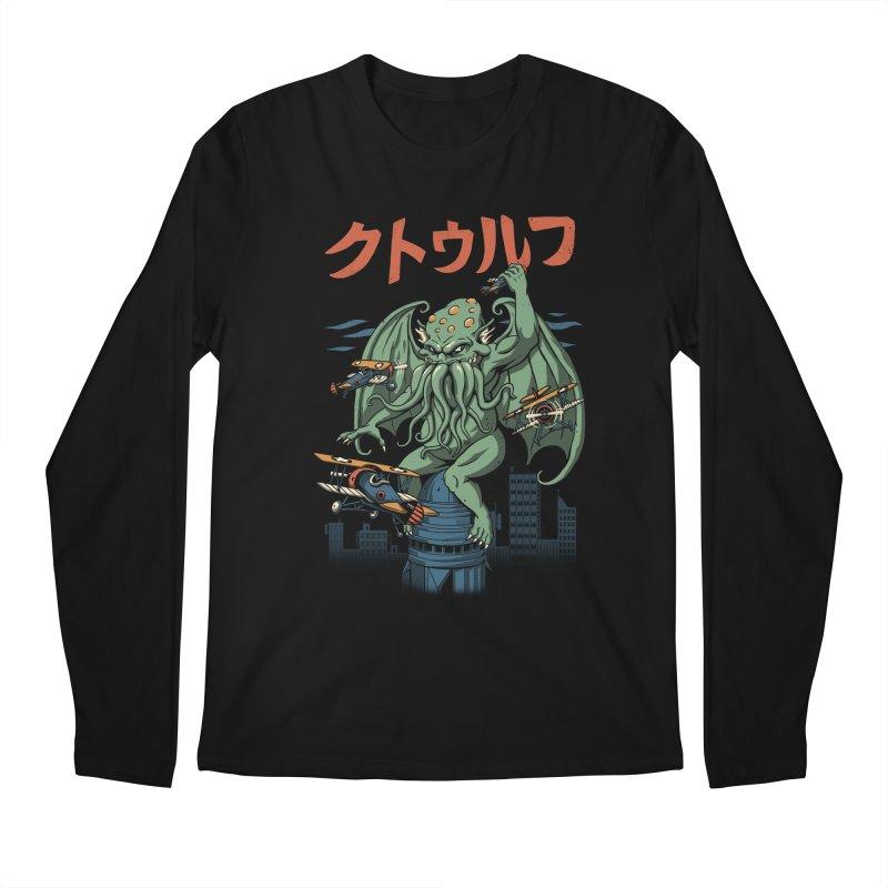 Kongthulhu Men's Regular Longsleeve T-Shirt by vincenttrinidad's Artist Shop