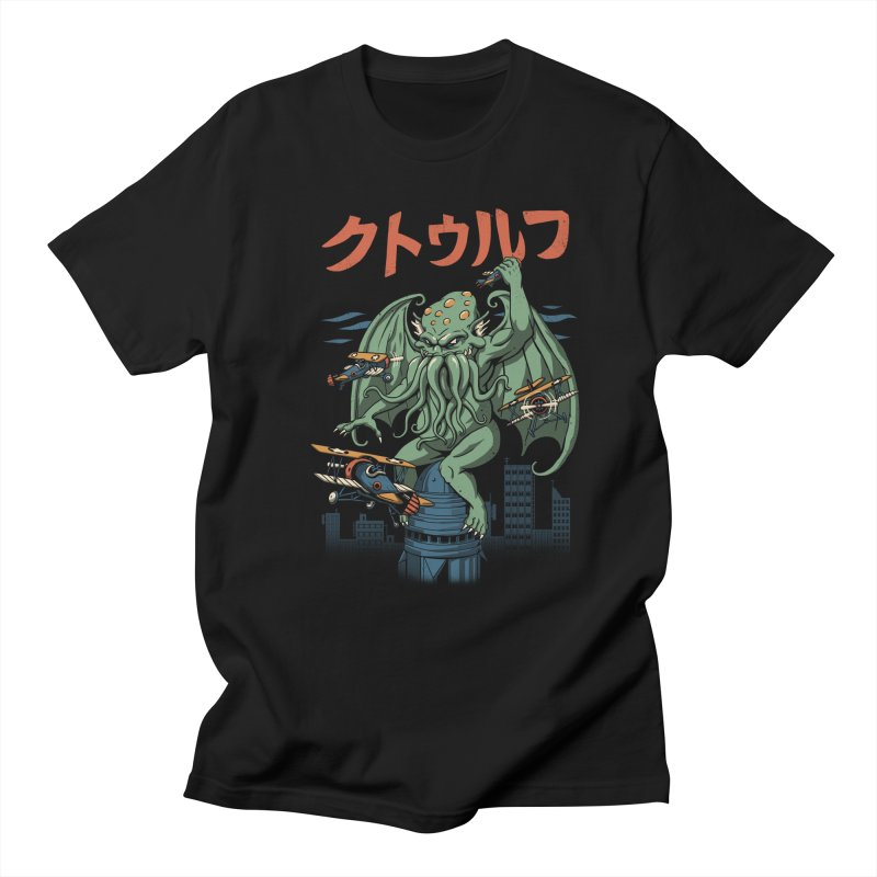 Kongthulhu Women's Regular Unisex T-Shirt by vincenttrinidad's Artist Shop