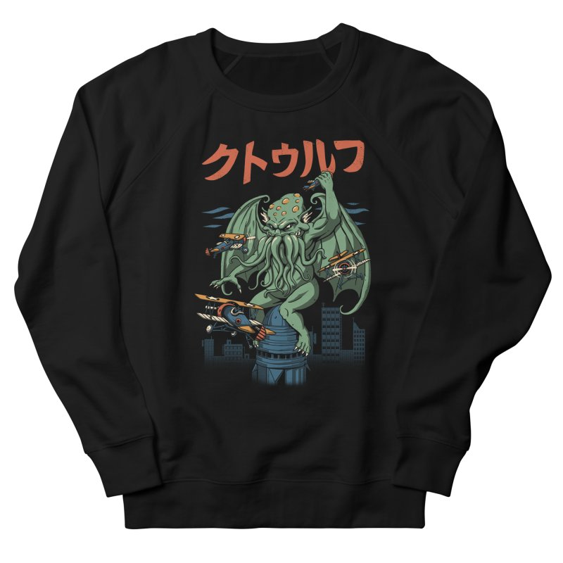 Kongthulhu Women's French Terry Sweatshirt by vincenttrinidad's Artist Shop
