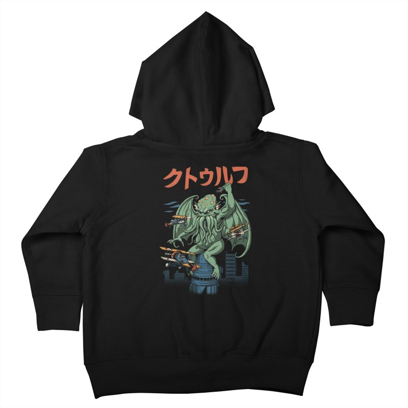 Kongthulhu Kids Toddler Zip-Up Hoody by vincenttrinidad's Artist Shop