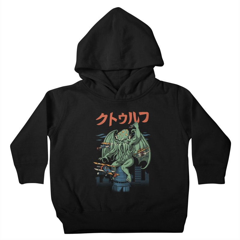 Kongthulhu Kids Toddler Pullover Hoody by vincenttrinidad's Artist Shop