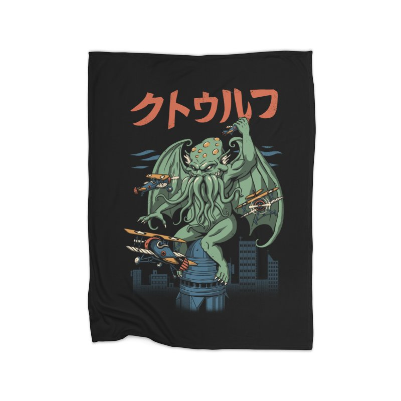 Kongthulhu Home Blanket by vincenttrinidad's Artist Shop