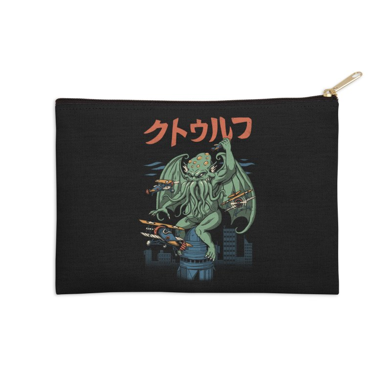 Kongthulhu Accessories Zip Pouch by vincenttrinidad's Artist Shop