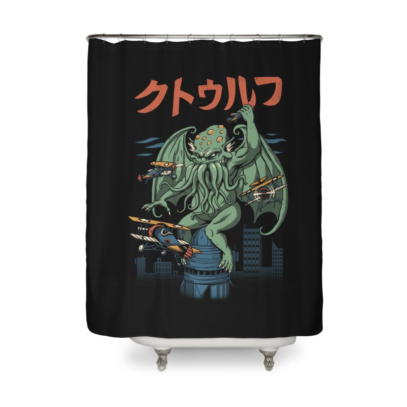 Kongthulhu Home Shower Curtain by vincenttrinidad's Artist Shop