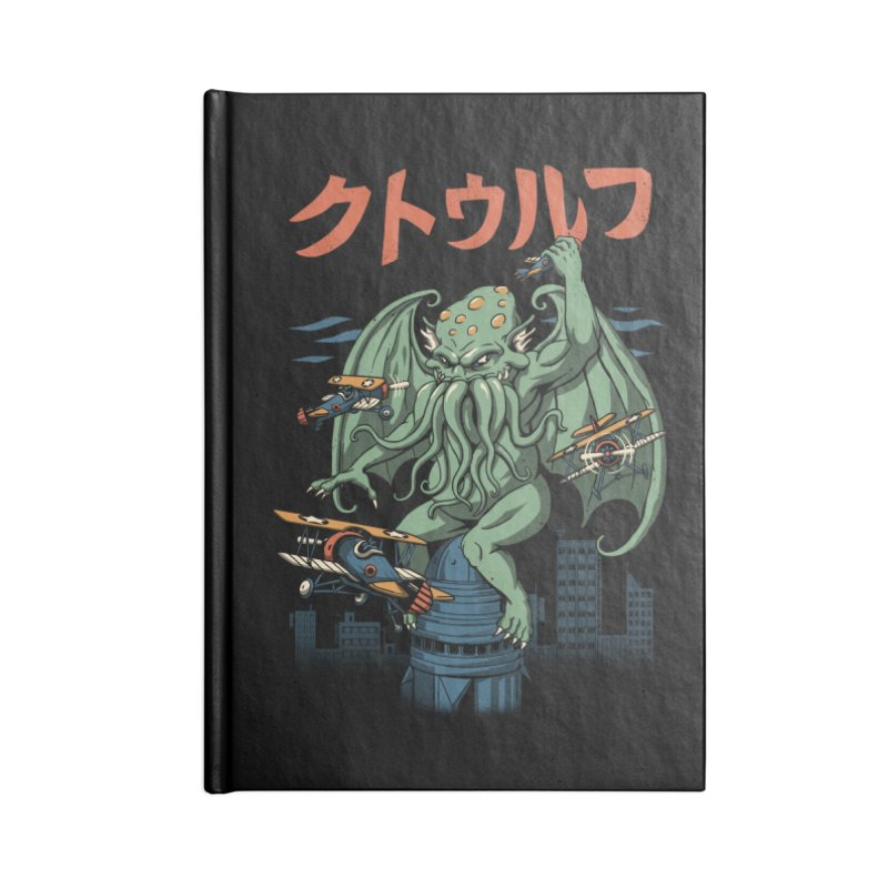 Kongthulhu Accessories Notebook by vincenttrinidad's Artist Shop