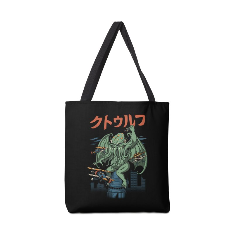 Kongthulhu Accessories Bag by vincenttrinidad's Artist Shop