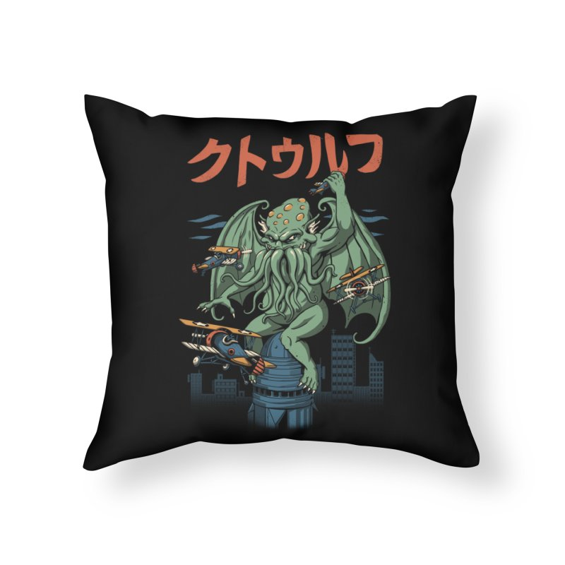 Kongthulhu Home Throw Pillow by vincenttrinidad's Artist Shop