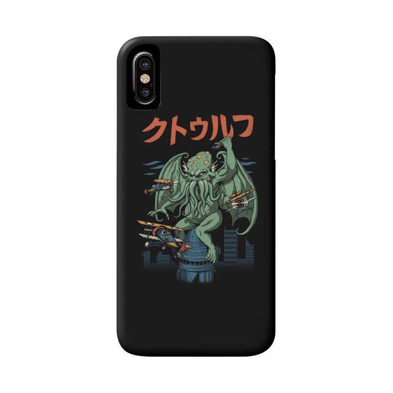 Kongthulhu Accessories Phone Case by vincenttrinidad's Artist Shop