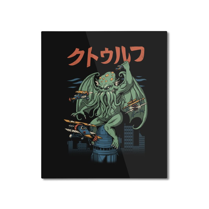 Kongthulhu Home Mounted Aluminum Print by vincenttrinidad's Artist Shop