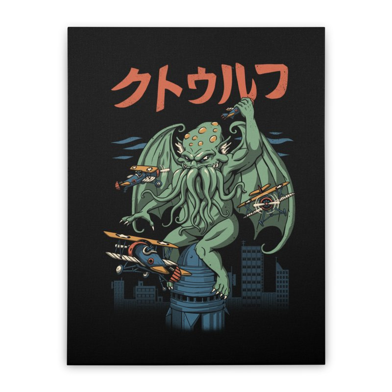 Kongthulhu Home Stretched Canvas by vincenttrinidad's Artist Shop