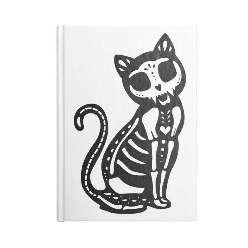 Macabre Cat Accessories Notebook by vincenttrinidad's Artist Shop