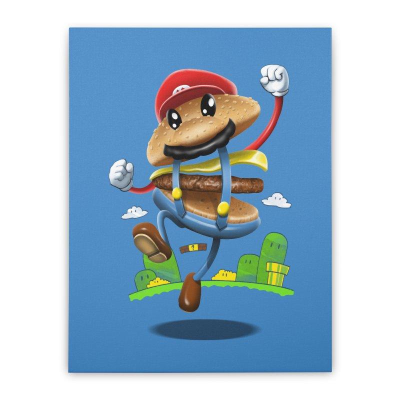 Super Mario Burger   by vincenttrinidad's Artist Shop