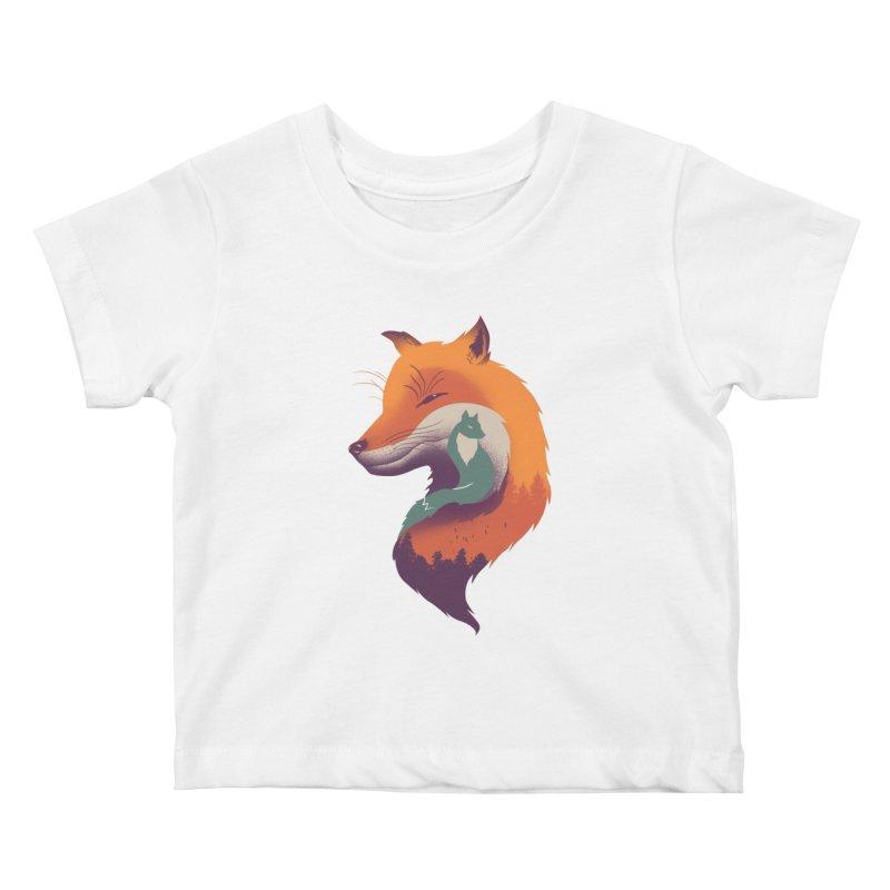 Foxy Breeze Kids Baby T-Shirt by vincenttrinidad's Artist Shop