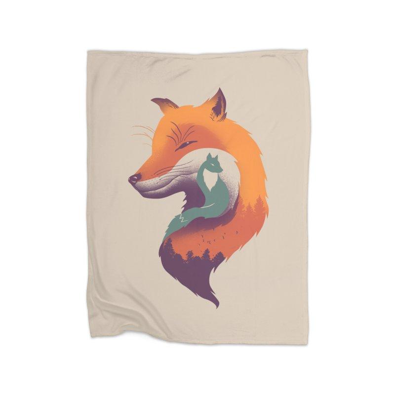 Foxy Breeze Home Blanket by vincenttrinidad's Artist Shop