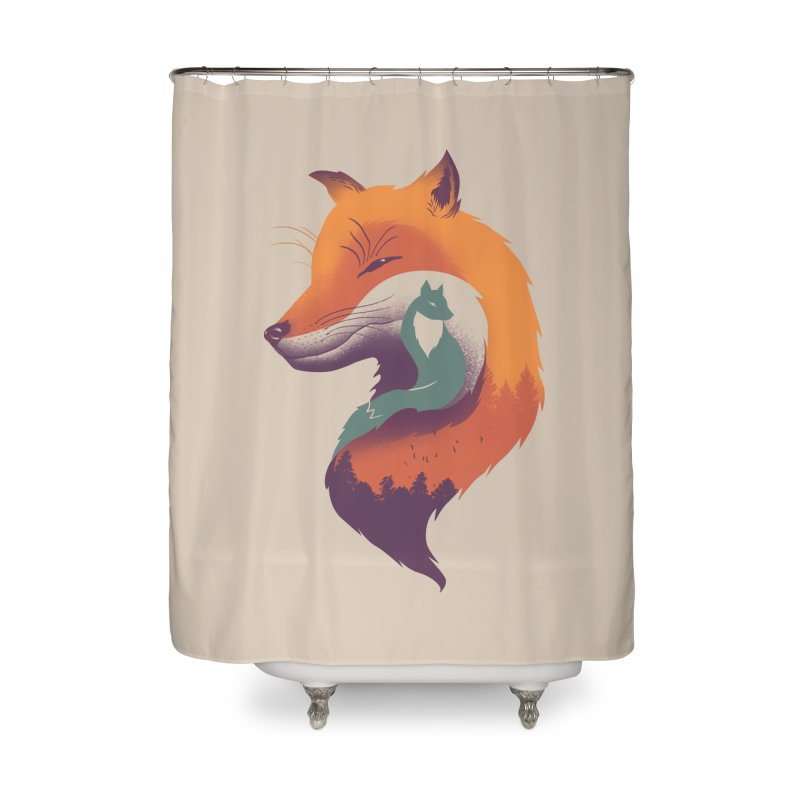 Foxy Breeze Home Shower Curtain by vincenttrinidad's Artist Shop