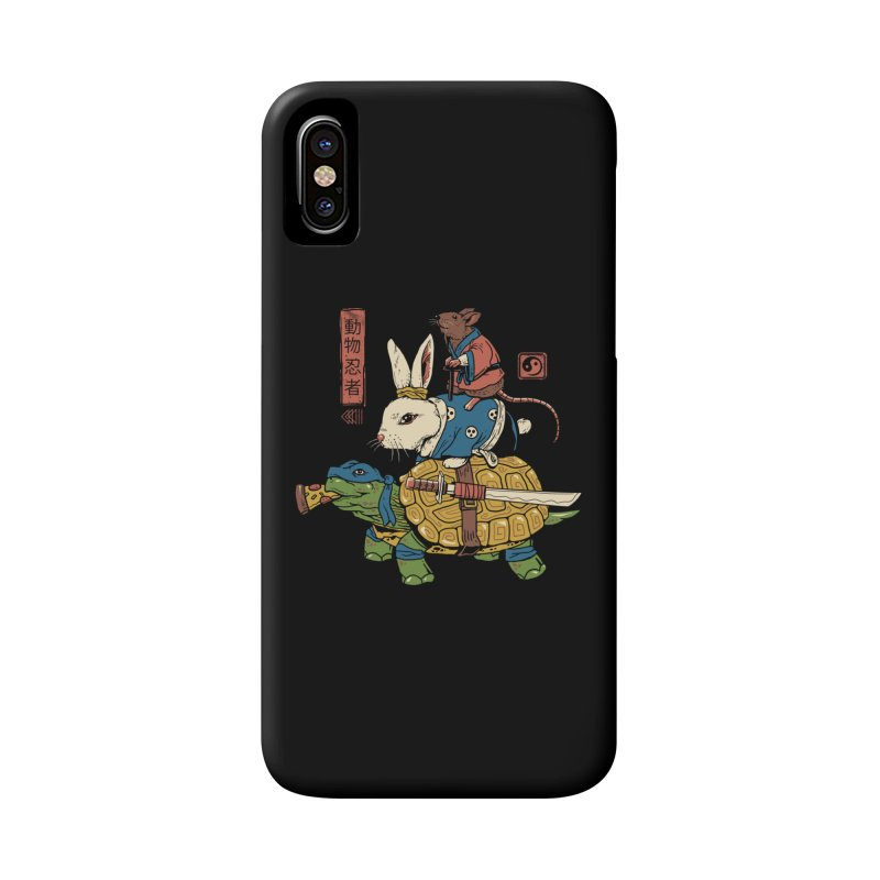Kame, Usagi and Ratto Ninjas Accessories Phone Case by vincenttrinidad's Artist Shop