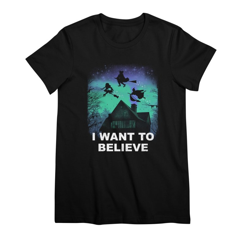 Believe in Magic Women's Premium T-Shirt by vincenttrinidad's Artist Shop