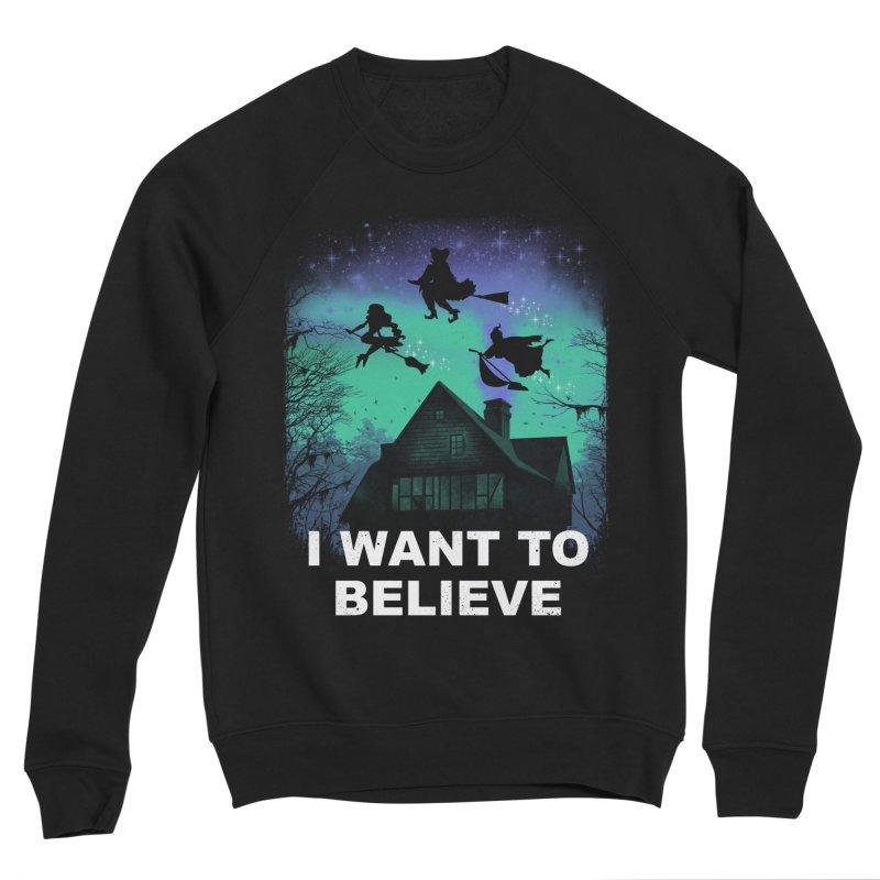 Believe in Magic Men's Sponge Fleece Sweatshirt by vincenttrinidad's Artist Shop
