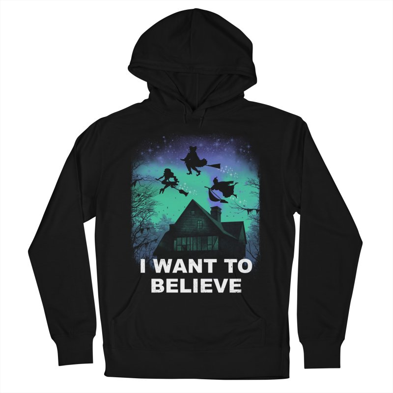 Believe in Magic Women's French Terry Pullover Hoody by vincenttrinidad's Artist Shop