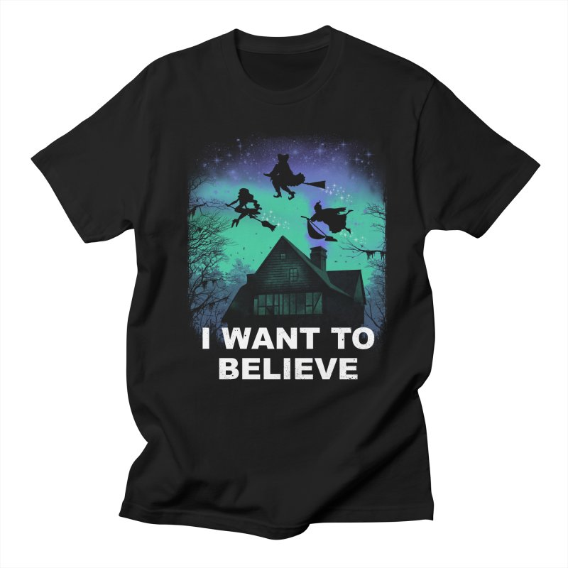Believe in Magic Women's Regular Unisex T-Shirt by vincenttrinidad's Artist Shop