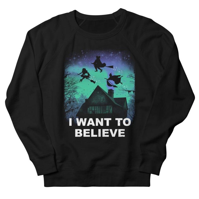 Believe in Magic Women's French Terry Sweatshirt by vincenttrinidad's Artist Shop