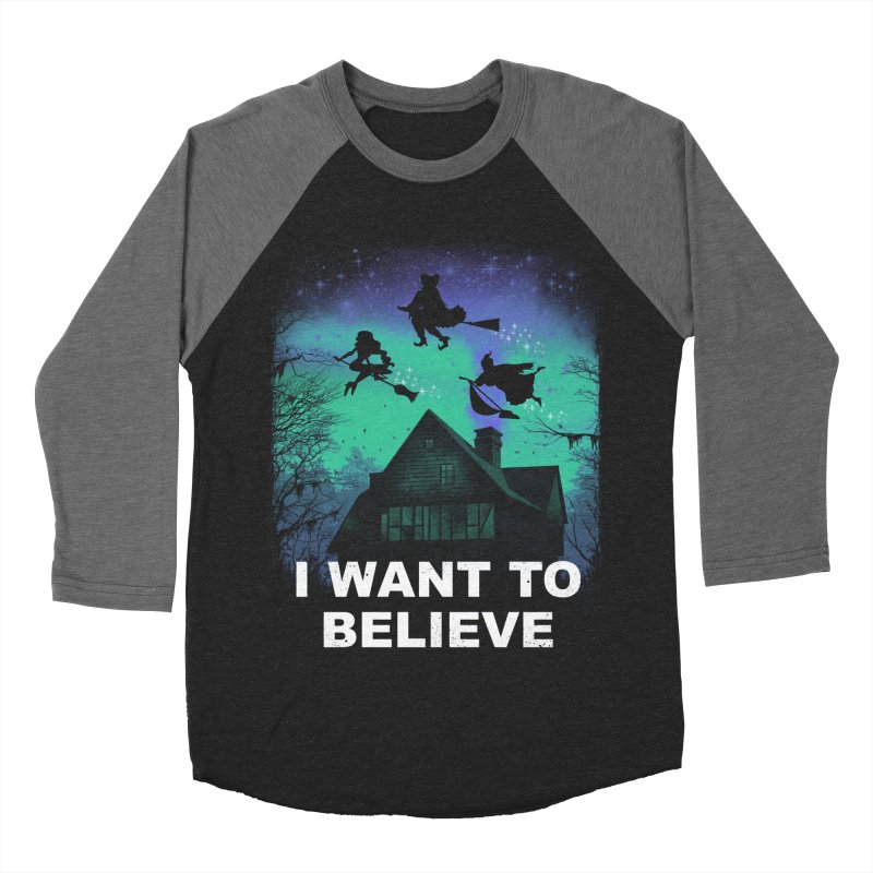 Believe in Magic Women's Baseball Triblend Longsleeve T-Shirt by vincenttrinidad's Artist Shop