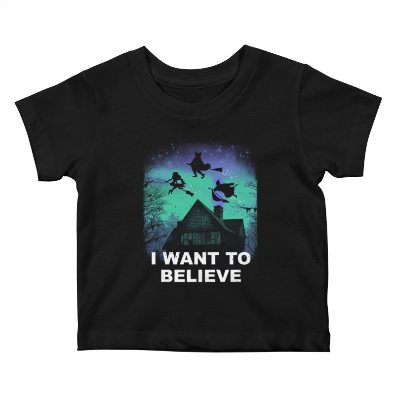 Believe in Magic Kids Baby T-Shirt by vincenttrinidad's Artist Shop