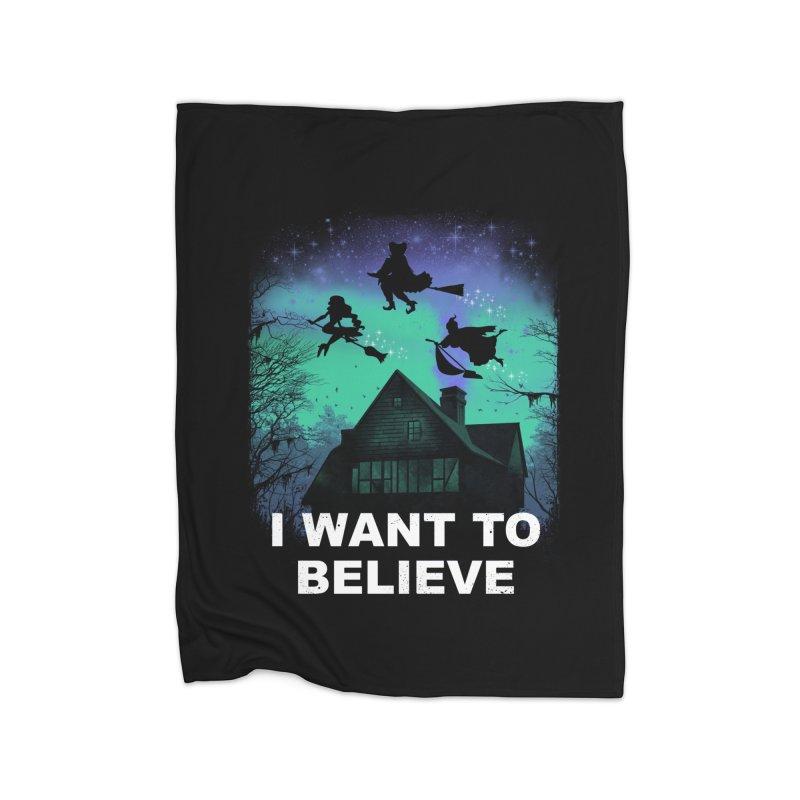 Believe in Magic Home Blanket by vincenttrinidad's Artist Shop