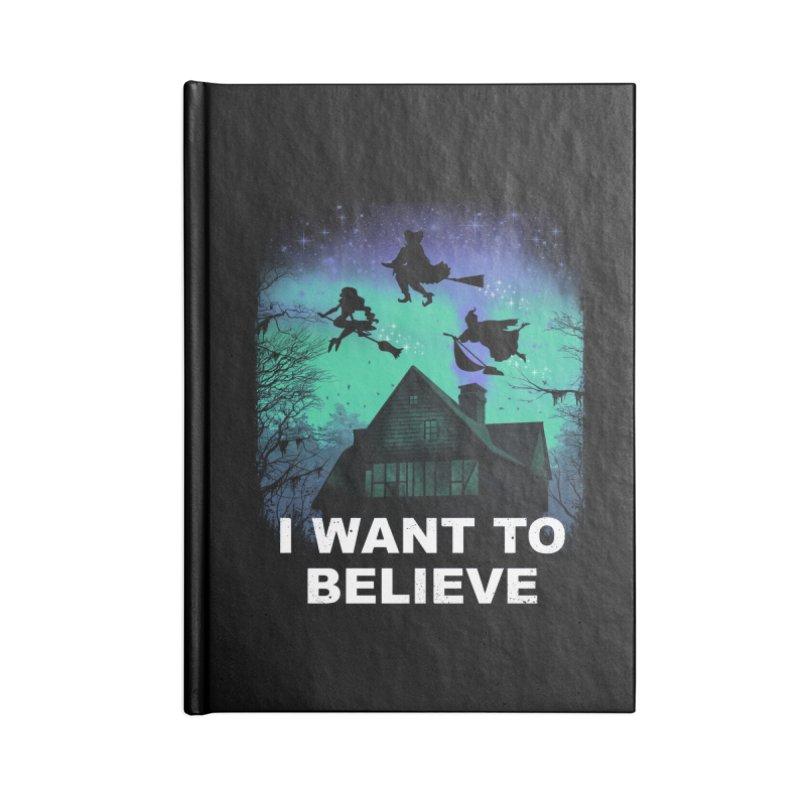 Believe in Magic Accessories Notebook by vincenttrinidad's Artist Shop