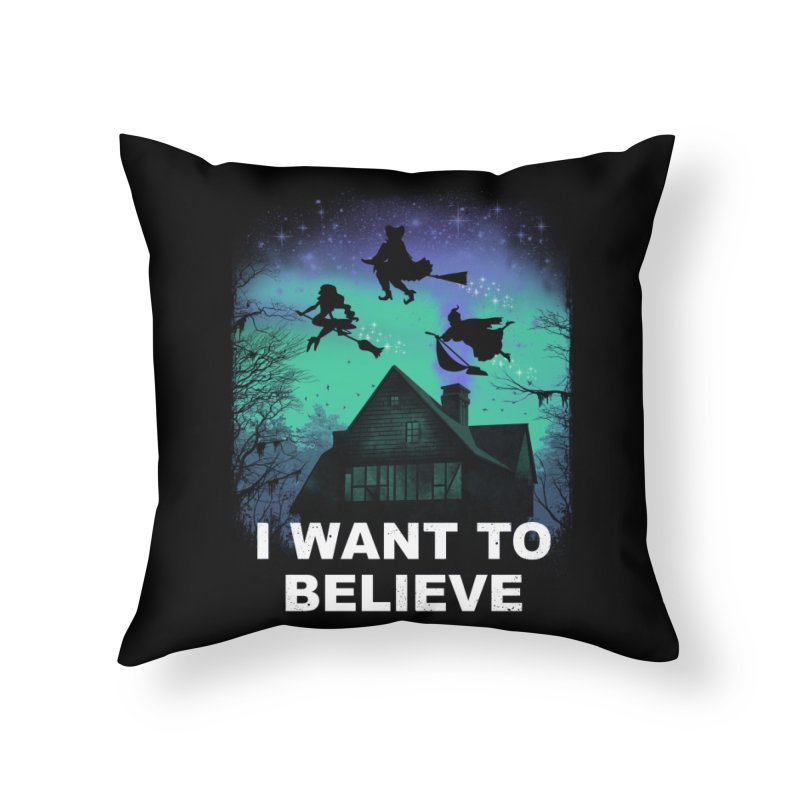 Believe in Magic Home Throw Pillow by vincenttrinidad's Artist Shop