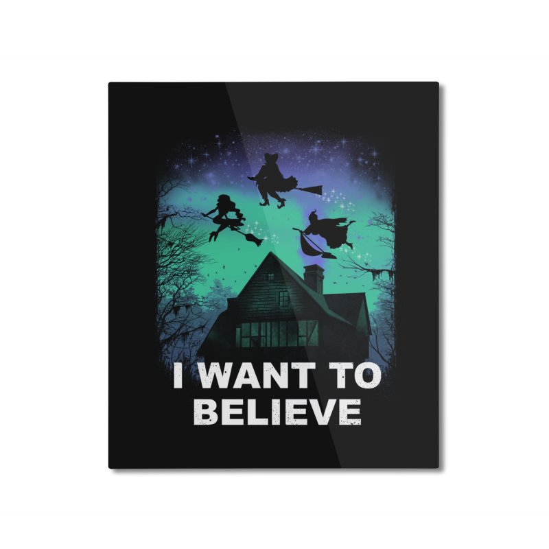 Believe in Magic Home Mounted Aluminum Print by vincenttrinidad's Artist Shop