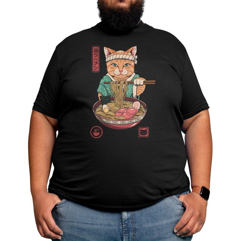 Neko Ramen Men's T-Shirt by Vincent Trinidad Art