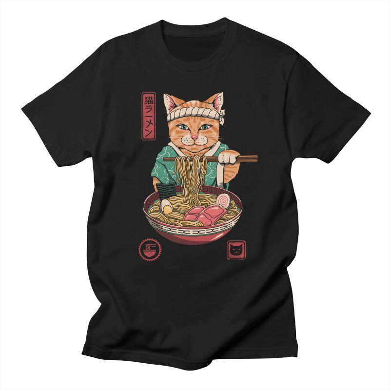 Neko Ramen Women's Regular Unisex T-Shirt by vincenttrinidad's Artist Shop
