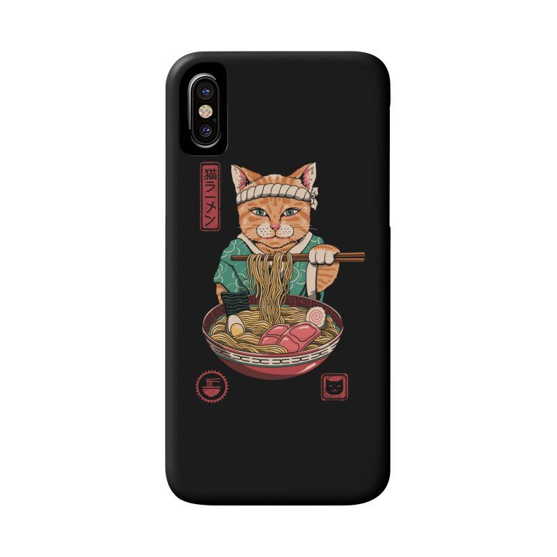 Neko Ramen Accessories Phone Case by vincenttrinidad's Artist Shop
